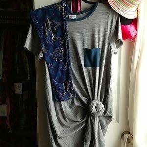 Lularoe Carly & OS Maleficent legging